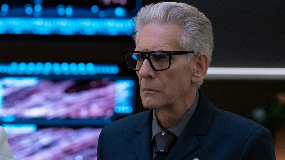 David Cronenbergb playing the mysterious Kovich in Star Trek Discovery