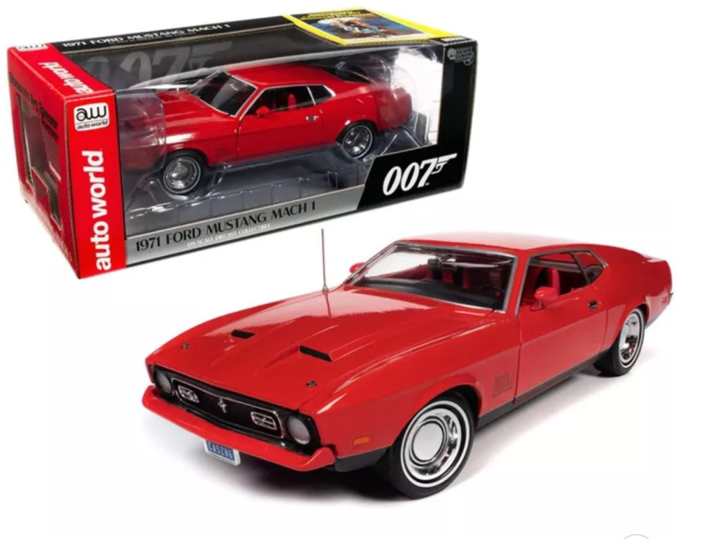 """""""Diamonds are Forever"""" (1971) Movie 1/18 Diecast Model Car by Autoworld"""