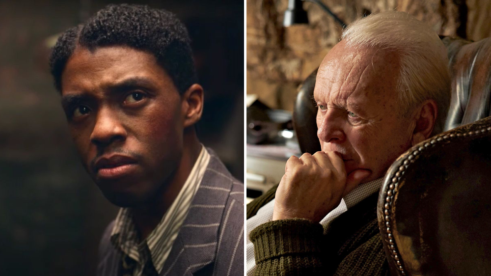 Oscar Predictions - Best Actor - Chadwick Boseman and Anthony Hopkins