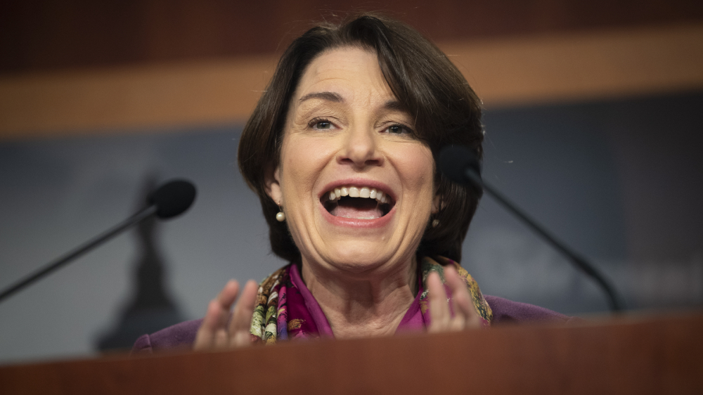 'Coup Fighters': Amy Klobuchar Shouts Out Senators Supporting Election Results With Foo Fighters Reference