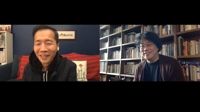 Bong Joon ho Interviews Lee Isaac