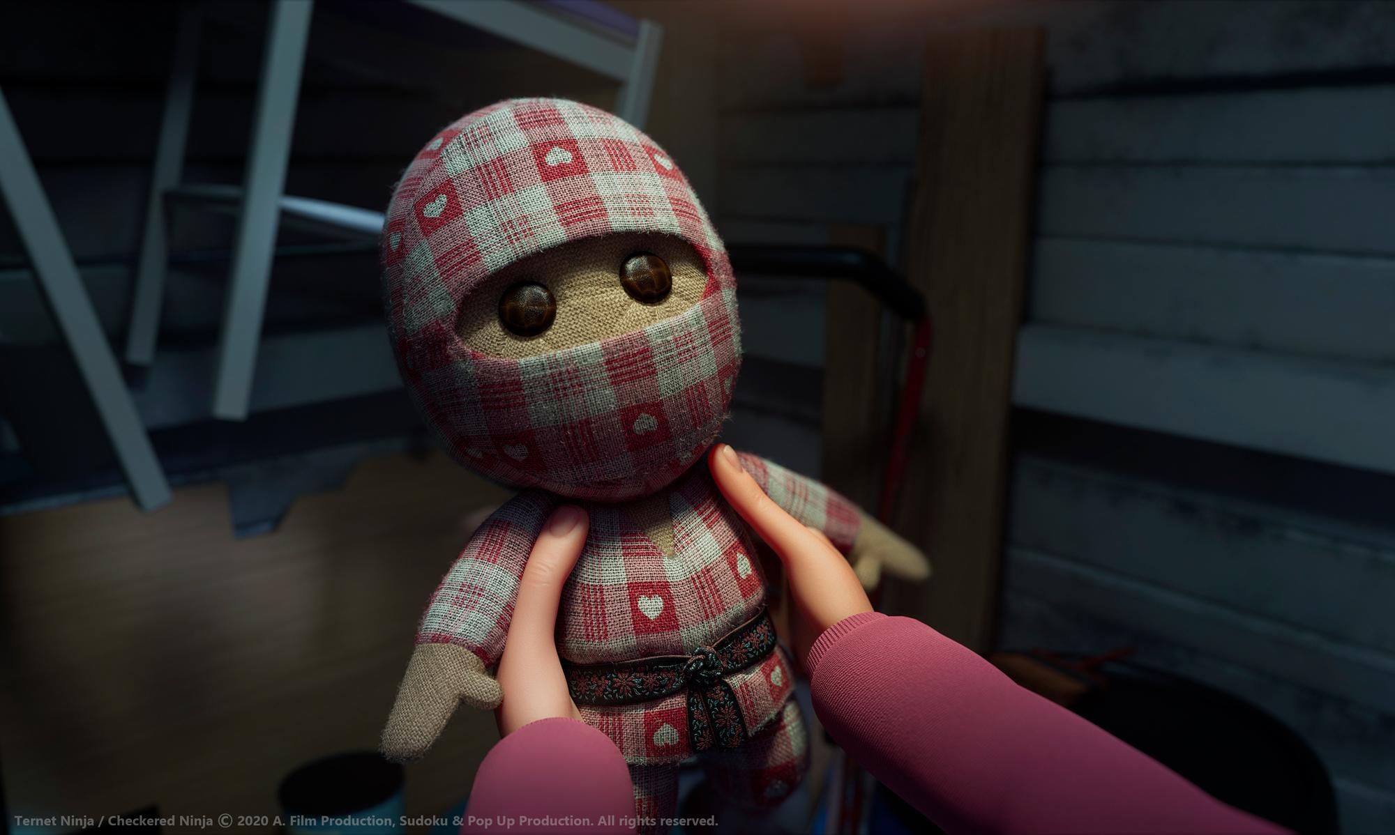 LevelK Boards Danish Animated Featured 'Checkered Ninja 2' (EXCLUSIVE)