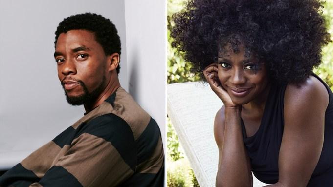 Chadwick Boseman Viola Davis