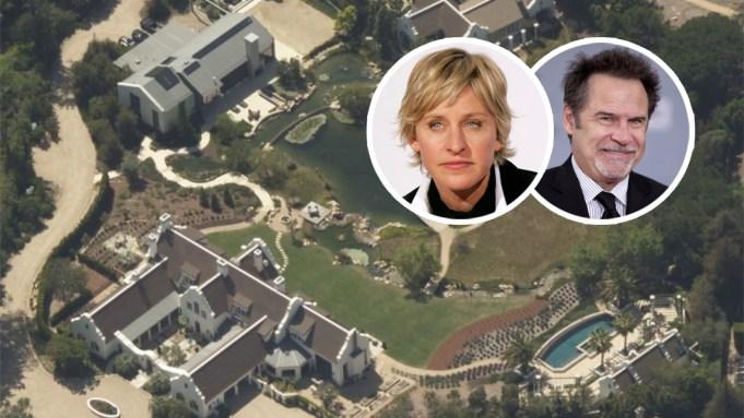 Ellen DeGeneres House Montecito