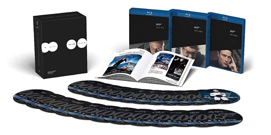James Bond Box Set Gift Guide