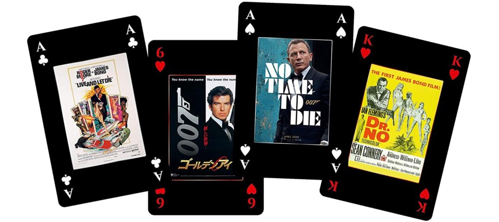 James Bond Playing Cards Bond Gifts