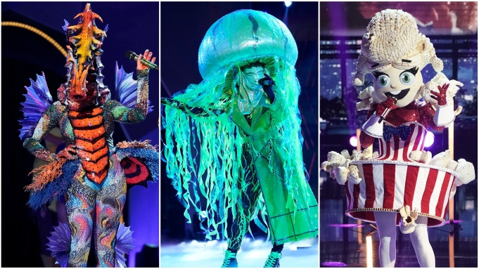 The Masked Singer Seahorse Jellyfish Popcorn