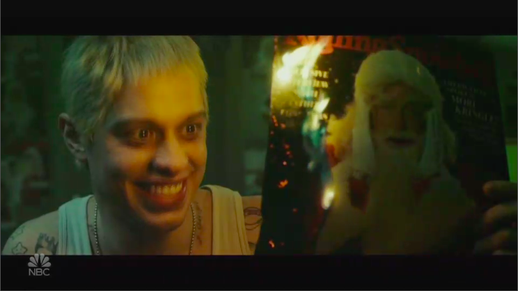 'Saturday Night Live': Eminem Appears in Pete Davidson's Christmas 'Stan' Parody