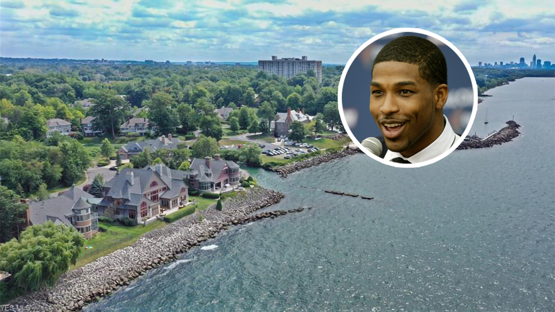 Tristan Thompson Lists Lakefront Ohio Mansion