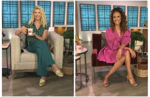 'The Talk' Names Amanda Kloots and Elaine Welteroth as New Co-Hosts