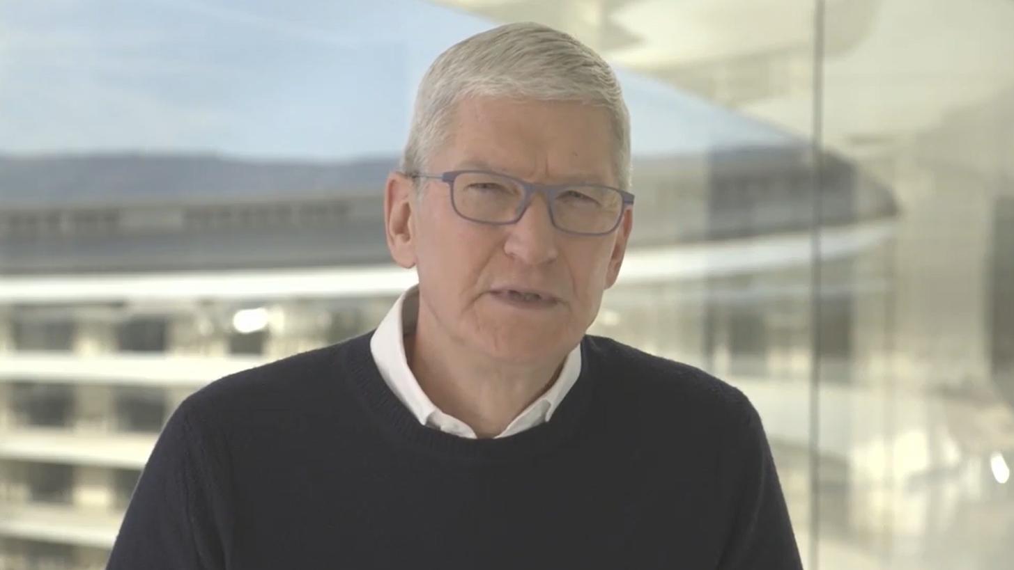 Apple CEO Tim Cook Defends Parler App Suspension: 'We Don't Consider That Free Speech'