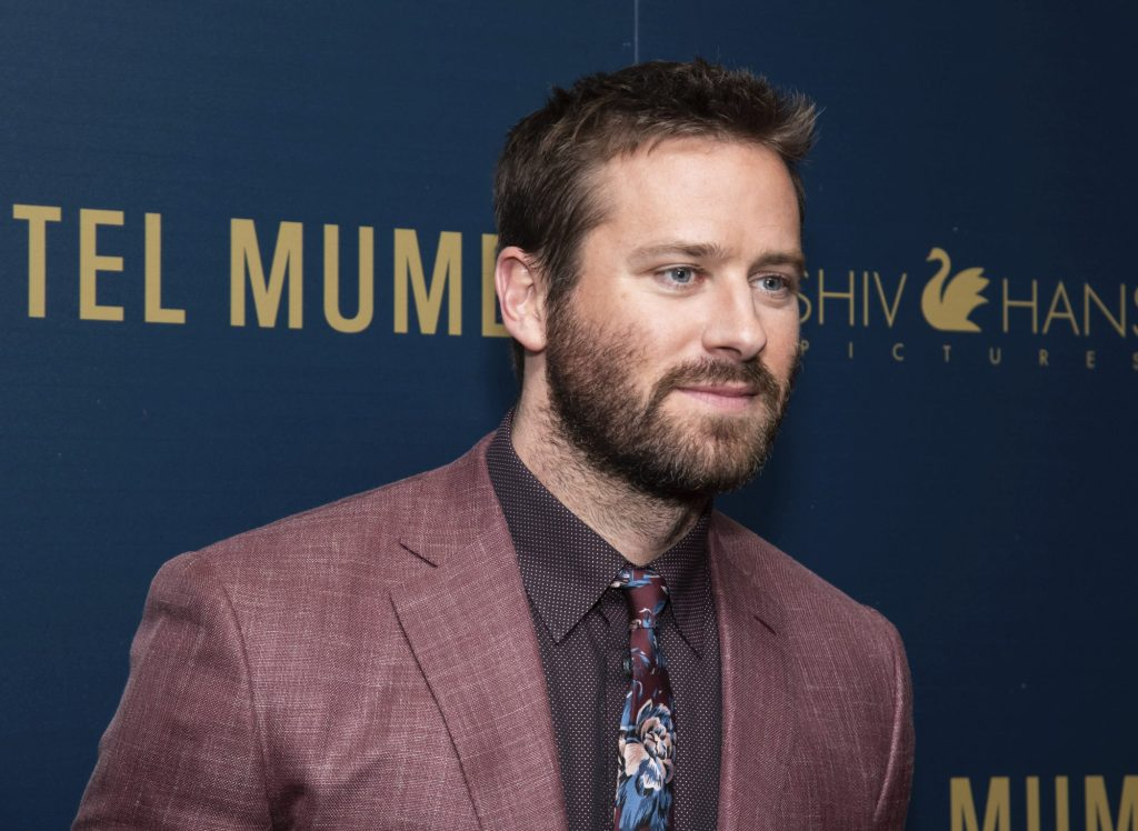 Armie Hammer Exits Making of 'The Godfather' Drama Series at Paramount Plus (EXCLUSIVE) – Variety