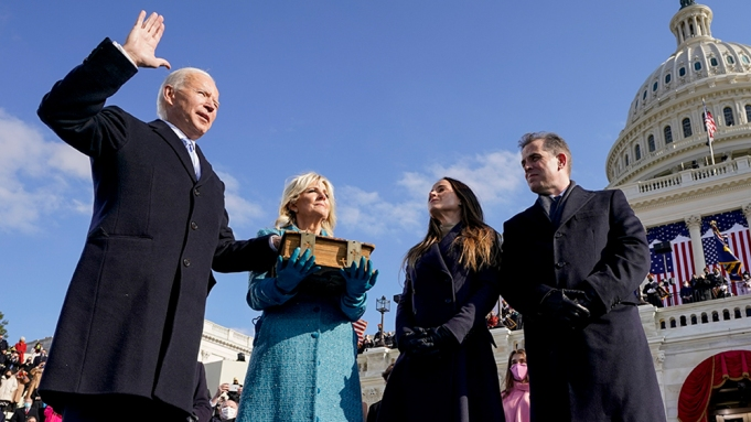 Biden's Inauguration Speech Highlights Unrest, Pandemic and Calls for Unity - Variety