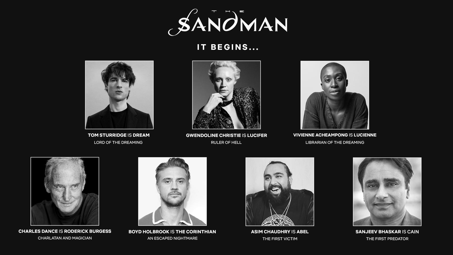 Sandman' Netflix Series Sets Main Cast, With Tom Sturridge to Star - Variety