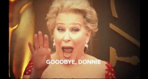 Bette Midler Sings 'Goodbye Donnie' in Comic Farewell-Trump Video