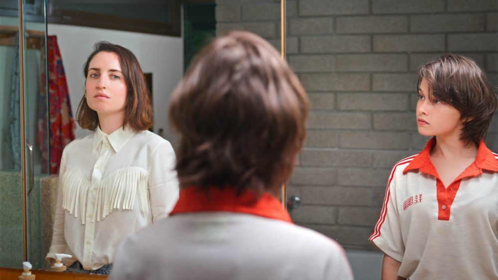 Zoe Lister-Jones and Cailee Spaeny appear in How it Ends by Daryl Wein and Zoe Lister-Jones, an official selection of the Premieres section at the 2021 Sundance Film Festival. Courtesy of Sundance Institute   photo by Daryl Wein.All photos are copyrighted and may be used by press only for the purpose of news or editorial coverage of Sundance Institute programs. Photos must be accompanied by a credit to the photographer and/or 'Courtesy of Sundance Institute.' Unauthorized use, alteration, reproduction or sale of logos and/or photos is strictly prohibited.