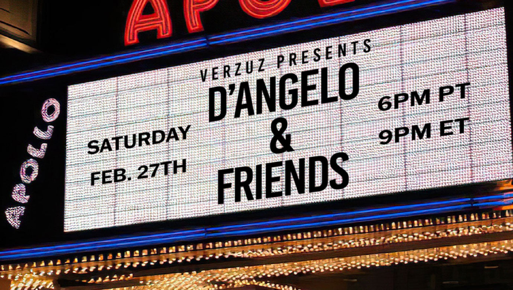 Watch D'Angelo Duet With H.E.R., Method Man, Redman and Himself in Unconventional Verzuz Team-Up