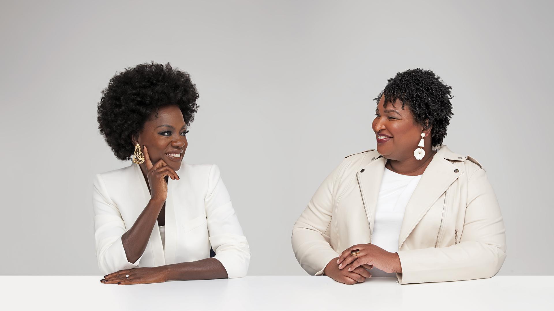 Black Women of Award Season Viola Davis Stacy Abrams