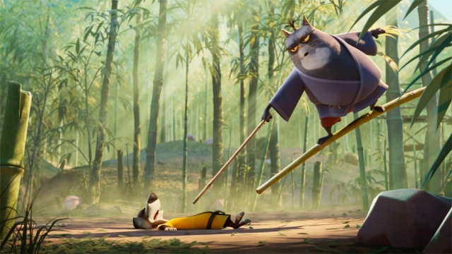 First Look: Animated Comedy 'Blazing Samurai,' Starring Michael Cera, Samuel L. Jackson, Ricky Gervais (EXCLUSIVE).jpg