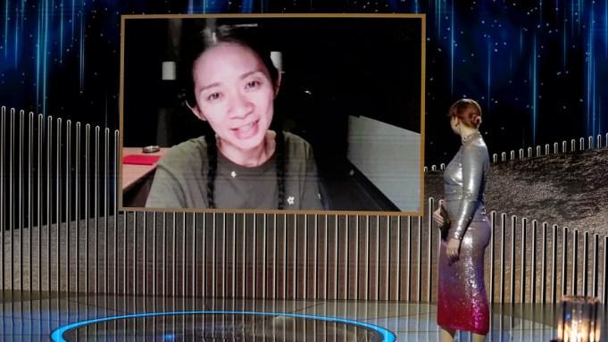 Chloe Zhao Best Director Golden Globe