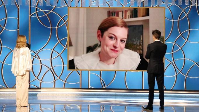 Emma Corrin Golden Globe Win The