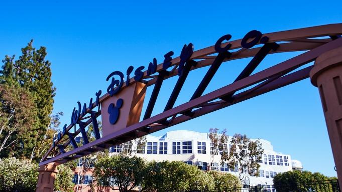 Walt Disney Co. Studios in Burbank, California on February 17, 2021.