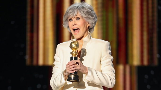 Jane Fonda Accepts Honor at Golden Globes: 'Let's Be Leaders' - Variety