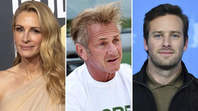 Julia Roberts Sean Penn Armie Hammer