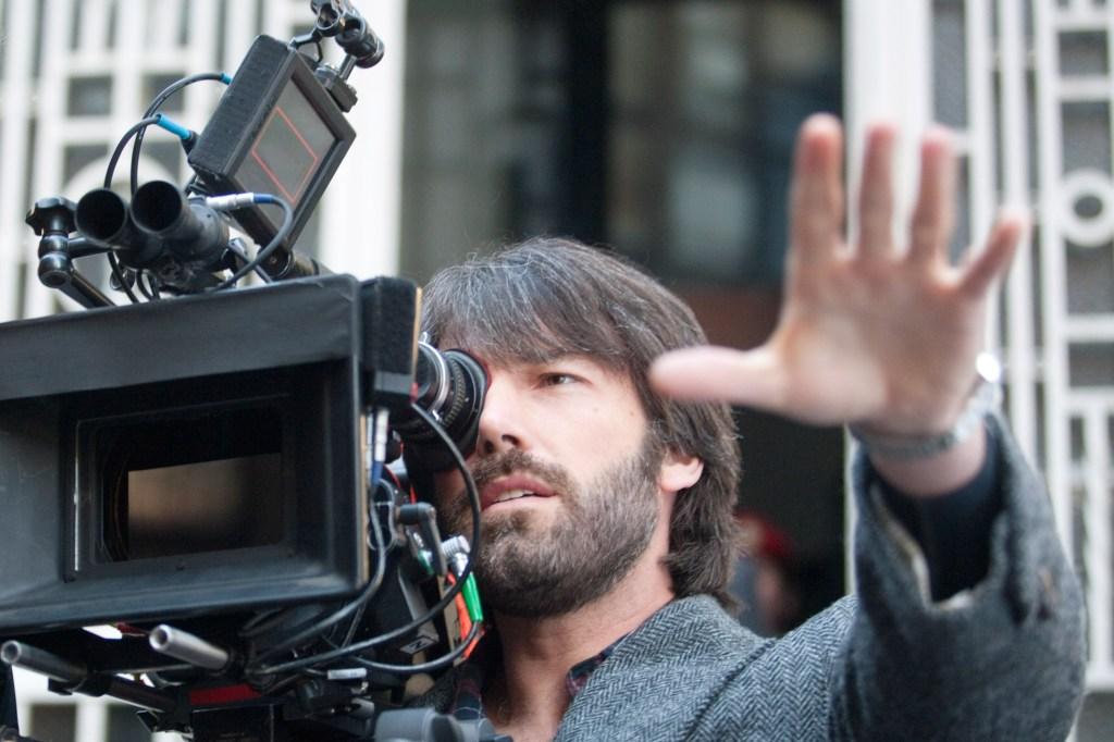ARGO, director Ben Affleck, on set, 2012. ph: Keith Bernstein/©Warner Bros. Pictures/Courtesy Everett Collection