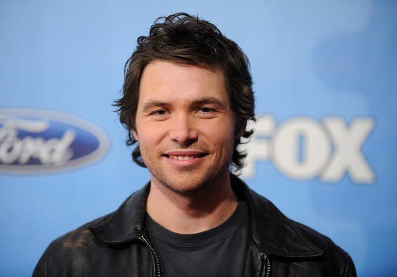 """Contestant Michael Johns attends the """"American Idol"""" annual Top 12 Party in this March 6, 2008, file photo in West Hollywood, Calif. (AP Photo/Phil McCarten, file)"""