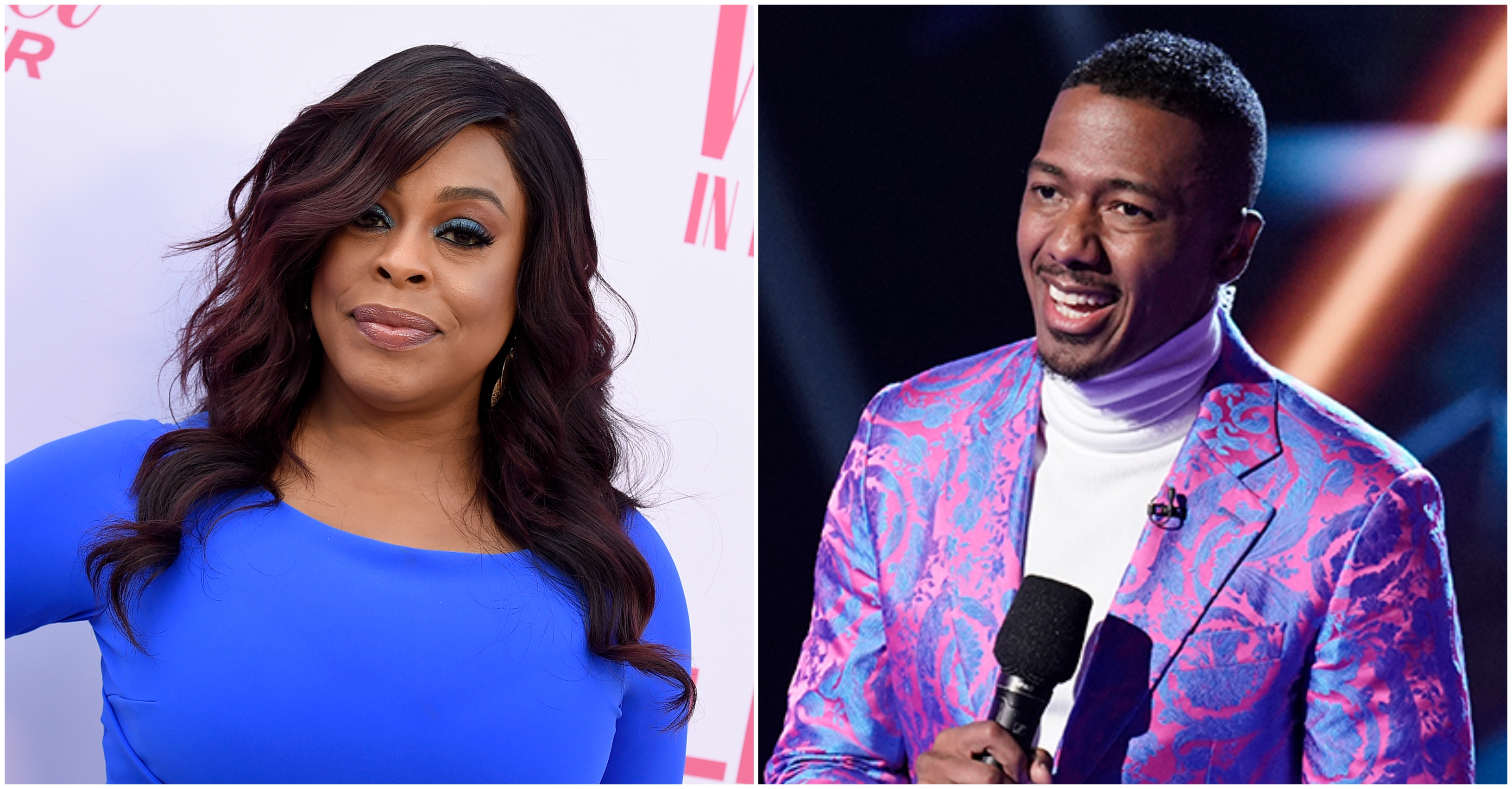 The Masked Singer Host Nick Cannon Has Covid Niecy Nash To Fill In Variety