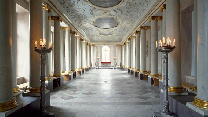 Rosersbergs slott. Slottskapellet.