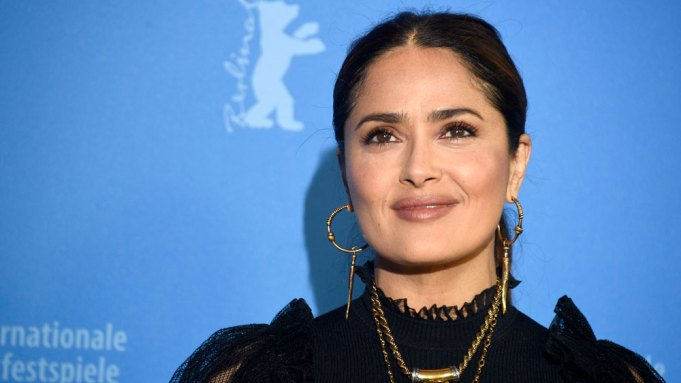 Salma Hayek at the photocall for