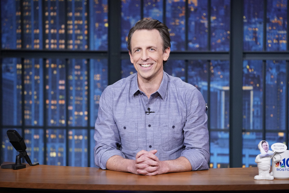 NBC Extends Seth Meyers' 'Late Night' Deal Though 2025
