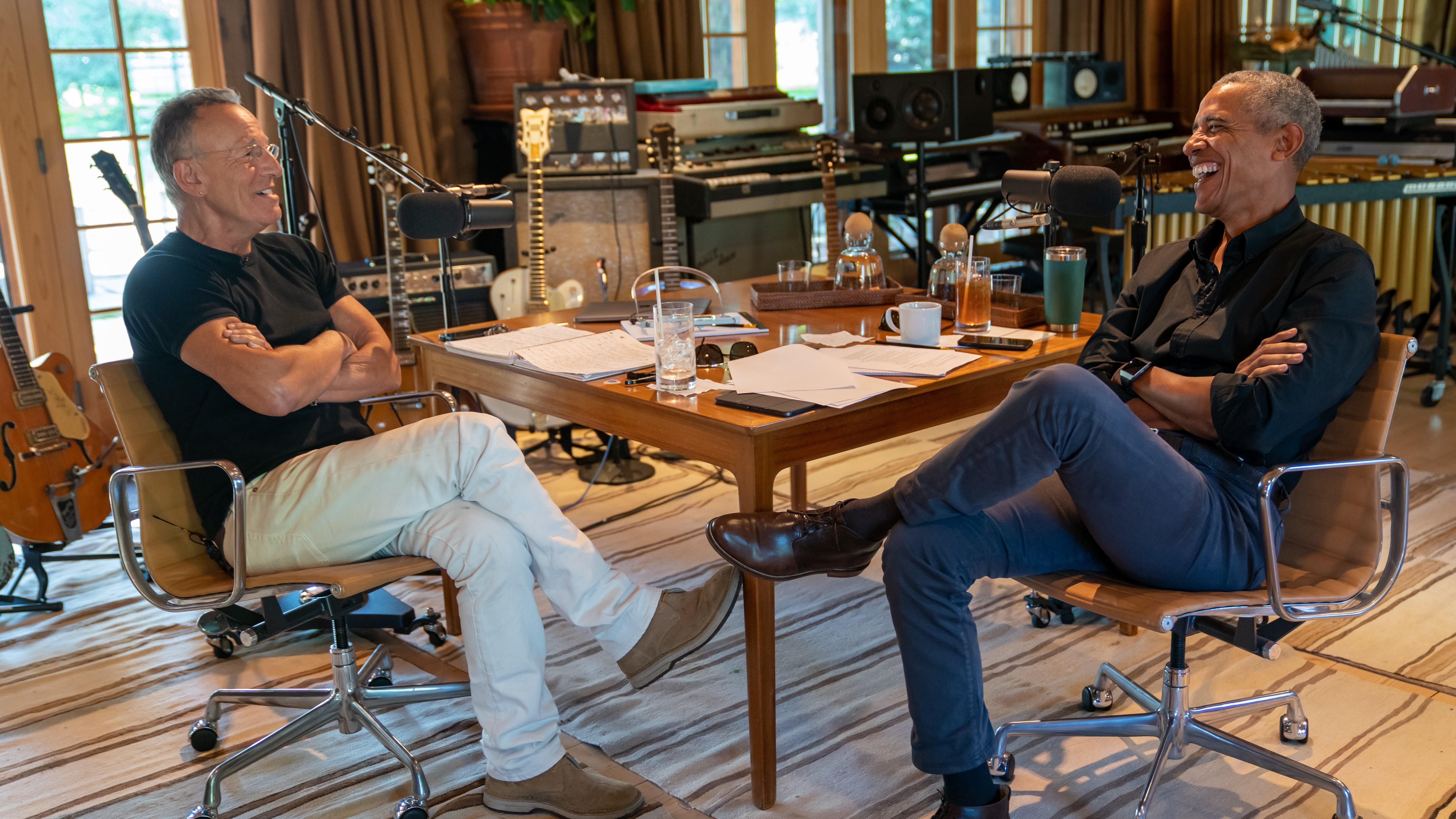Spotify-Obama-Springsteen-podcast