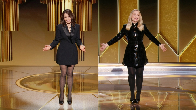 Tina Fey and Amy Poehler Golden