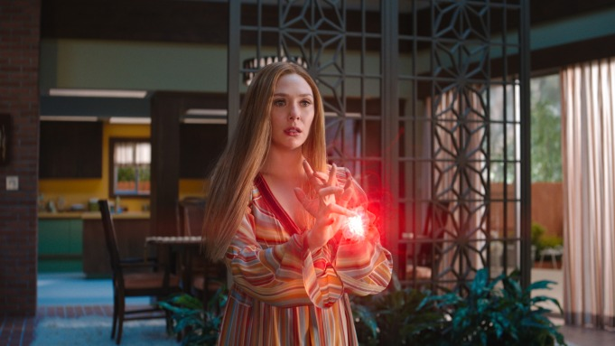 Elizabeth Olsen as Wanda Maximoff in
