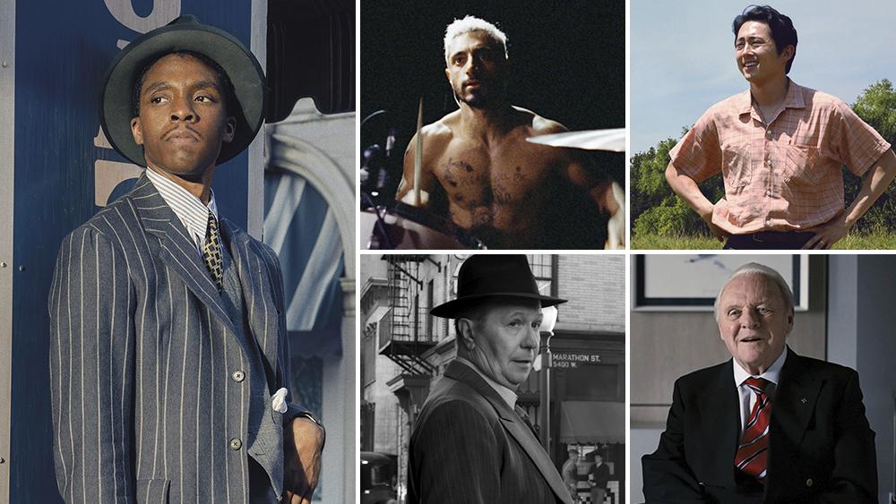 Nominados a Mejor Actor Protagonista en los Oscars 2021