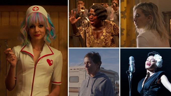 Nominadas a Mejor Actriz Protagonista en los Oscars 2021