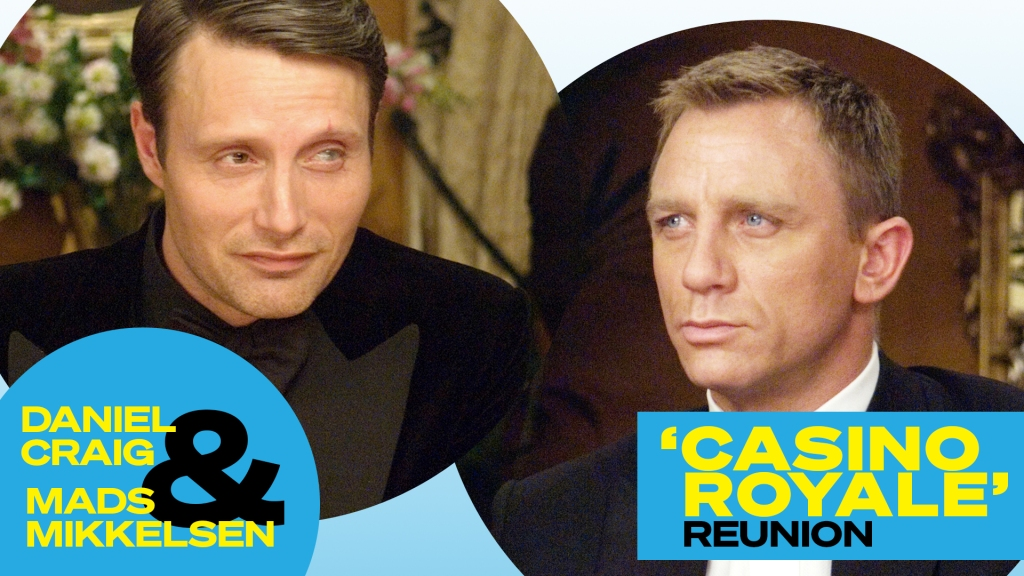 'Casino Royale' Reunion: Daniel Craig And Mads Mikkelsen On Bond Nerves and That Naked Chair Scene