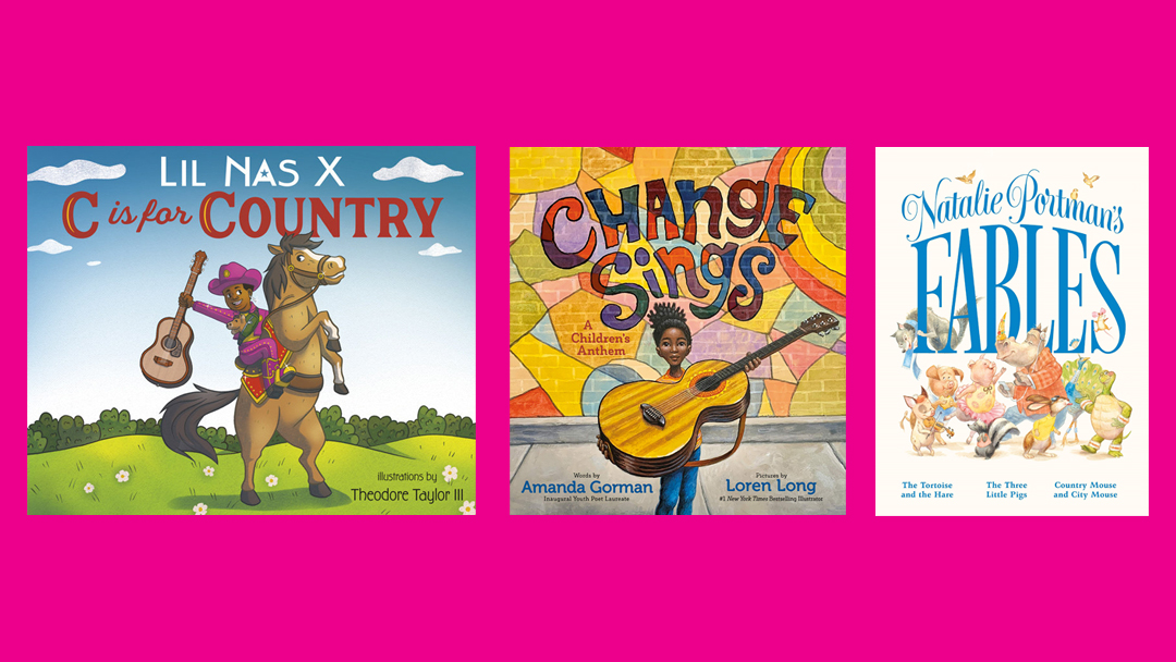 Celebs like Amanda Gorman, Natalie Portman, Lil Nas X have kids books