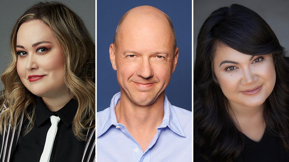 Tanya Saracho, Mike Royce, Liz Hsiao Lan Alper Debut Writers' Access Support Staff Training Program