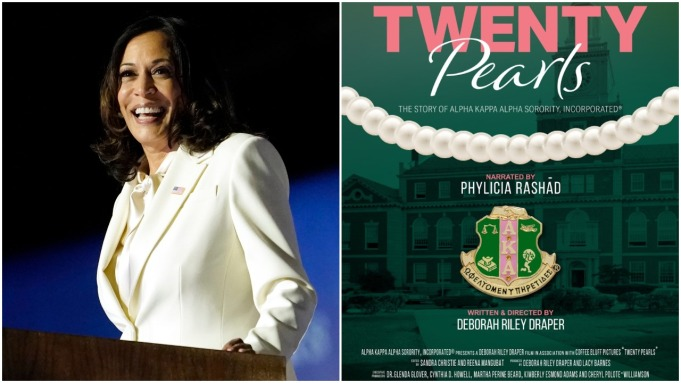 Kamala Harris Twenty Pearls