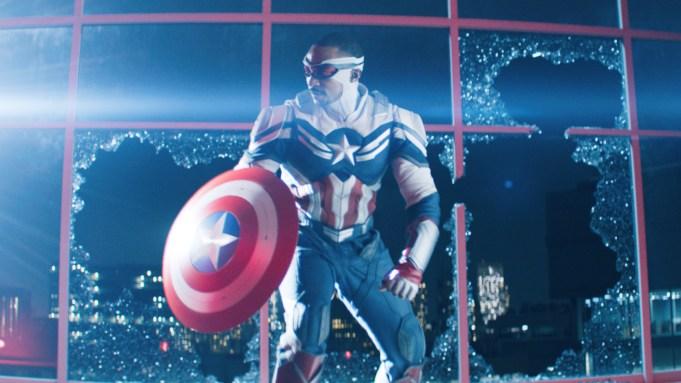 Falcon/Sam Wilson (Anthony Mackie) in Marvel