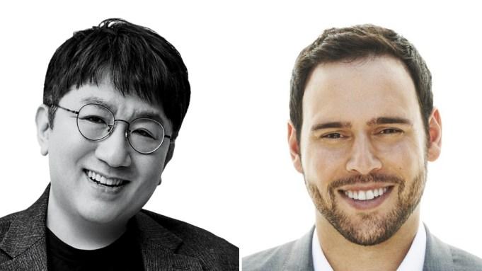 Bang-Si-Hyuk, Scooter Braun