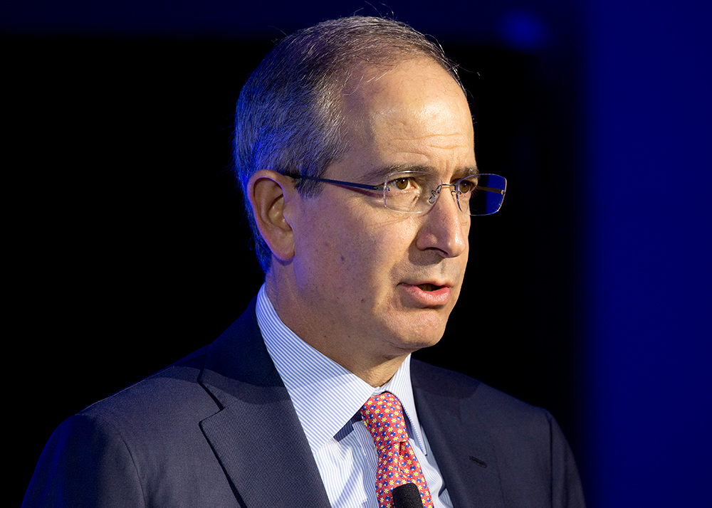 Brian Roberts, Chairman and CEO of Comcast, speaks at the conference