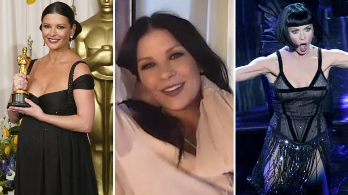 Catherine Zeta-Jones Oscars Performance