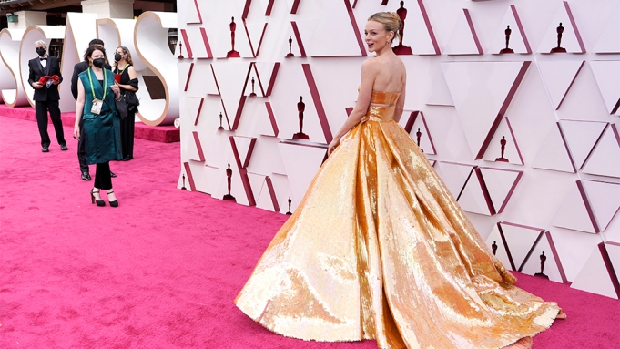 Carey Mulligan Oscars Red Carpet