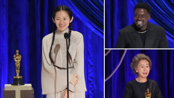 Chloe Zhao Daniel Kalyuua Yuh-jung Youn