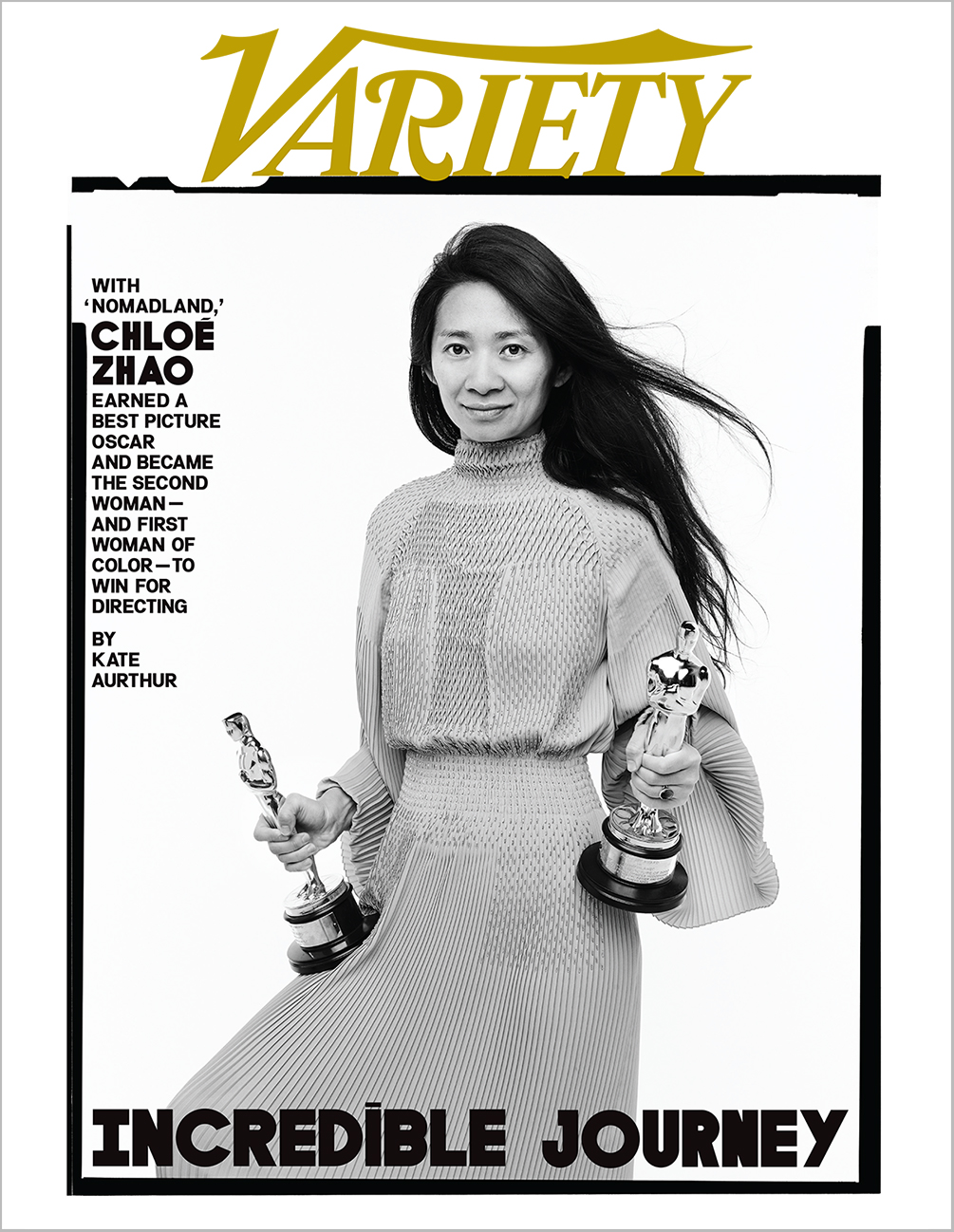 Chloe Zhao Variety Day After The Oscars Cover